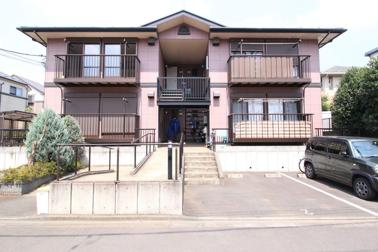東久留米市南町1丁目の2DKアパート「サニーハイツ」